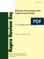 2004 Polymer Processing With Supercritical Fluids