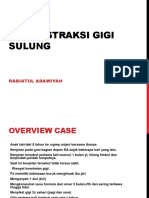 CDS Ekstraksi Gigi Sulung