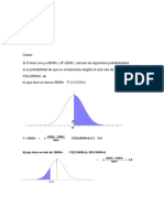 Ejemplos de distribucion Normal