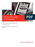 Bain Brief the Future of Car Sales is Omnichannel