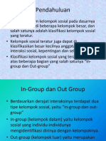 In-group Dan Out Group
