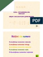 Axa Numerelor -Asistenta Unitate 2