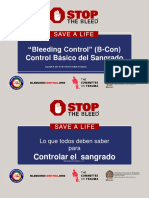 Bleeding Control Basic Presentation in Spanish Sept42017