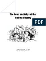 The Hows and Whys of the Games Industry - Table of contents