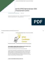 How I Passed the EPSO Administrator (AD) Exam - The Assessment Centre _ EU Training