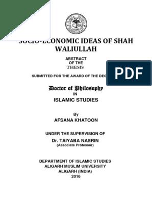 Shah Waliullah | Quran | Mughal Empire