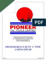 Pioneer HD J Casing Spear
