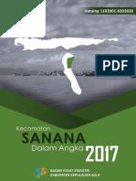Kecamatan Sanana Dalam Angka 2017