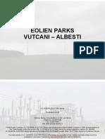 Ing. Valerica Rusu - Vutcani Albesti Windfarms