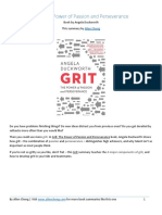 Grit PDF Summary From Allencheng.com