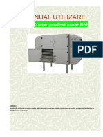 Manual Romana Deshidrator BM