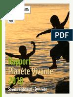 Rapport planète vivante 2018