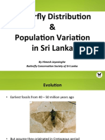 BCSSL Lec15 Butterfly Distribution & Population Variation in Sri Lanka