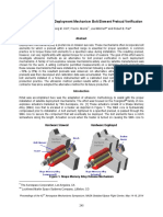 Ultrasonic Method for Deployment Mechanism Bolt Element Preload Verification