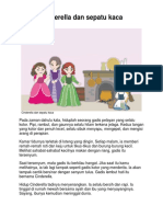Dongeng Anak - Cinderella Dan Sepatu Kaca