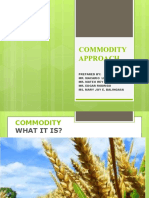 Group07 Commodity Approach
