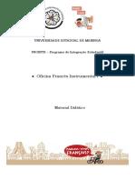 Material Oficina de Lingua Francesa 2018 - Prointe - Uem