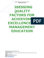 Assessing quality factors for achieving excellence in management education - Copy.doc