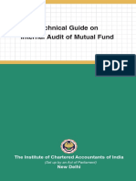Technical Guide on Internal Audit of Mutual Fund | Internal Audit