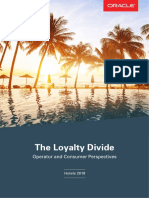 The Loyalty Divide - Operator and Consumer Perspectives