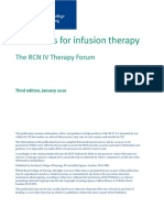 Royal College of Nursing - Standards for Infusion Therapy