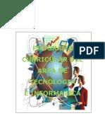 Plan Curricular Area de Tecnologia e a 2010