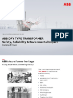 ABB Dry Type Transformer Safety, Reliability & Enviromental Impact