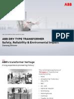 ABB Dry Type Transformer Safety, Reliability & Enviromental Impact