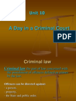 Unit 10 - A Day in a Criminal Court[2]