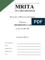 Metrology Lab Review)