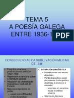 temas literatura 2ª avaliación