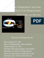 Gold Foil Experiment Powerpoint
