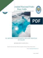 EL METODO CUANTITATIVO EN LAS CIENCIAS SOCIALES
