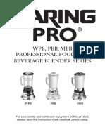 Waring Pro Manual.pdf