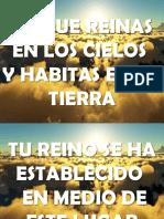 Desciende Marcos Barrientos y Christine D Clario