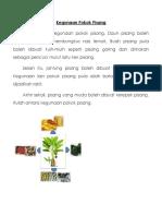 313130233 Kegunaan Pokok Pisang