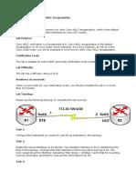 Lab 21 Verifying Cisco HDLC Encapsulation