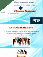 Capital Humano y La Tecnologia