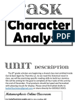 character analysisa