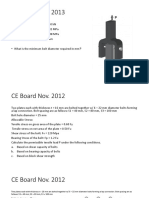 CE 513 - Bolts and Rivets - 1