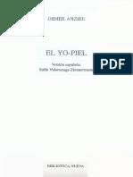 Anzieu Didier - El Yo - Piel