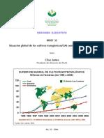 4 Situacion Global de Los Cultivos Transgenicos