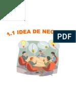 1.1 Idea de Negocio