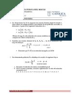 Unidad III - Estimación Puntual - Guía