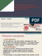 El Terrorismo de Las Organizaciones Armadas en Argentina