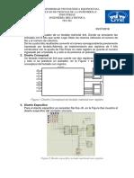 Teclado matricial con registro en proteus