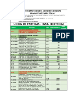 Union y Sep- Inst. Electry Sanit