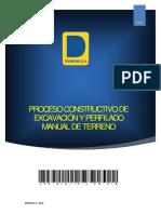 4.7_dmm-010116-C-po-018 Excavación y Perfilado Manual de Terreno Rev1