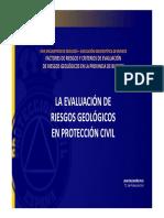 Presentación Riesgos Geológicos y Protección Civil. 26 Octubre 2018 MEH Burgos