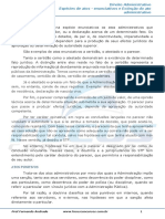 Ato Administrativo Atos Enunciativos - 003731
